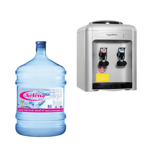Aqua Work 0.7-TKR+1бут 19л Selena Premium